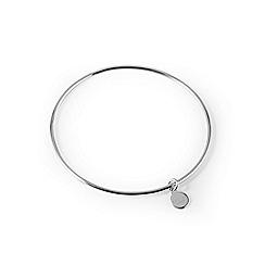 Radley - Sterling silver 'Broad Street' bangle bracelet