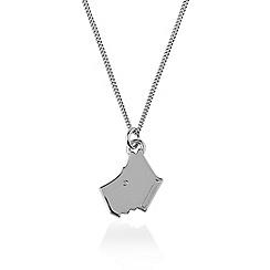 Radley - Silver 'Love Radley' dog pendant necklace