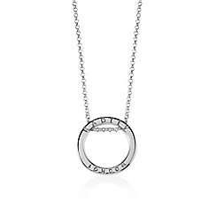 Radley - Silver 'Esher Street' ring pendant necklace