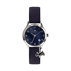Radley - Ladies navy 'Liverpool Street' analogue leather strap watch RY2643