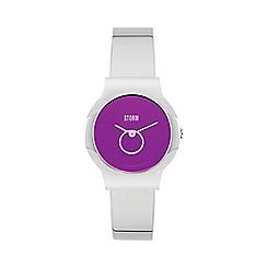 STORM London - Ladies silver 'Erinele' bracelet watch