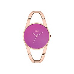 STORM London - Ladies rose gold 'Odesa' bracelet watch