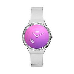 STORM London - Ladies silver Swarovski crystals 'Cody' bracelet watch