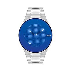 STORM London - Men's silver 'Trionic-X' bracelet watch