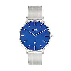 STORM London - Men's silver 'Xoreno' bracelet watch