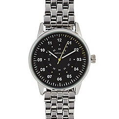 Infinite - Mens' silver analogue watch