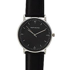Infinite - Womens' black analogue watch