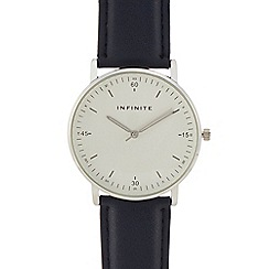 Infinite - Womens' navy analogue watch