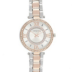 Red Herring - Womens' Multicoloured Diamante Embellished Analogue Watch