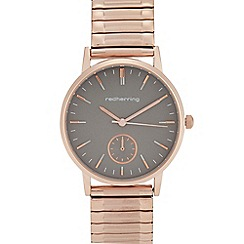 Red Herring - Womens' Rose Gold Plated Analogue Watch