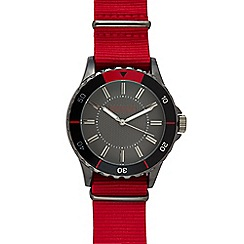 Red Herring - Mens' Red 'St Nato' Sports Watch