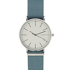 Red Herring - Womens' light blue 'Scandi Nato' analogue watch
