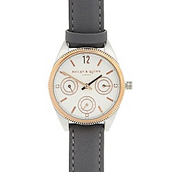 Bailey & Quinn - Ladies grey multi dial watch