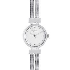 RJR.John Rocha - Designer ladies silver split mesh watch