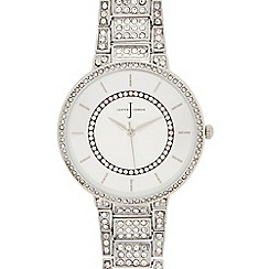 J by Jasper Conran - Womens' silver analogue watch