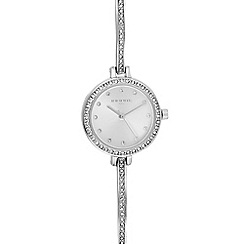 Infinite - Womens' Silver Plated Diamante Analogue Watch
