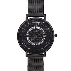Red Herring - Womens' Black Deconstructed Print Analogue Watch