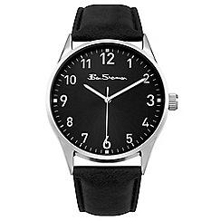 Ben Sherman - Men's black analogue strap watch BS144