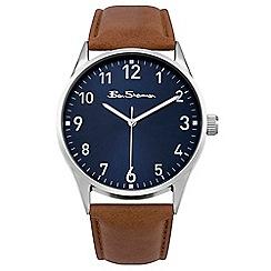 Ben Sherman - Men's brown analogue strap watch BS143
