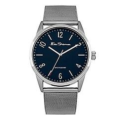 Ben Sherman - Men's silver analogue bracelet watch BS153