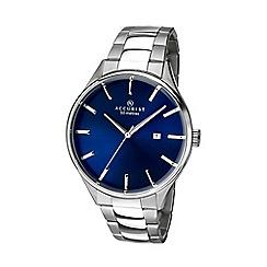 Accurist - Men's silver analogue bracelet watch 7111.01