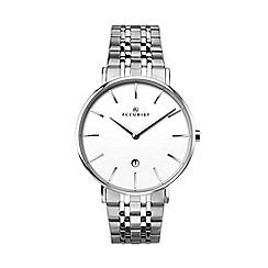 Accurist - Men's silver analogue bracelet watch 7129.01