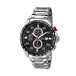 Accurist - Men's silver chronograph bracelet watch MB1028R.01