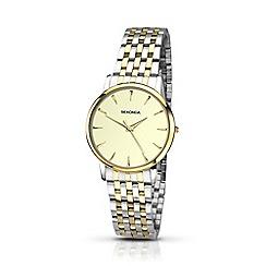 Sekonda - Ladies gold and silver analogue bracelet watch 2339.28