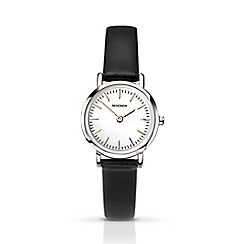 Sekonda - Ladies black analogue leather strap 2346.28