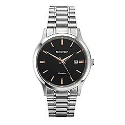 Sekonda - Men's silver analogue bracelet watch 1192.28