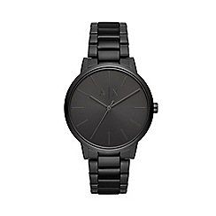 Armani Exchange - Men's Black 'Smart' Analogue Bracelet Watch AX2701