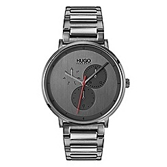 Hugo - Men's grey analogue bracelet watch 1530012