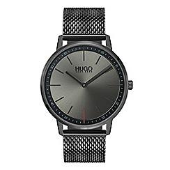 Hugo - Men's grey analogue bracelet watch 1520012