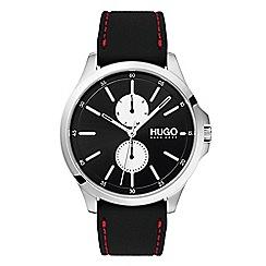 Hugo - Men's red analogue strap watch 1530001