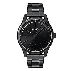 Hugo - Men's black analogue bracelet watch 1530040