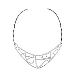 Pilgrim - Silver Plated 'Zora' Necklace