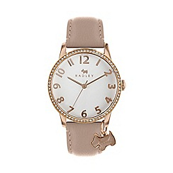 Radley - Ladies Pink Analogue Leather Strap Watch RY2724