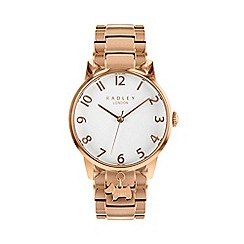 Radley - Ladies Rose Gold 'Liverpool Street' Analogue Bracelet Watch RY4362