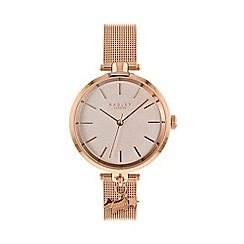 Radley - Ladies Rose Gold 'St Dunstan's' Analogue Mesh Bracelet Watch RY4364