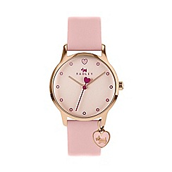 Radley - Ladies Rose Gold Analogue Leather Strap Watch RY2742S