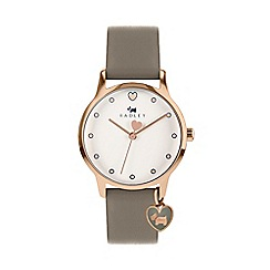 Radley - Ladies Grey Analogue Leather Strap Watch RY2744S