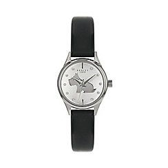 Radley - Ladies Black Analogue Leather Strap Watch RY2753S
