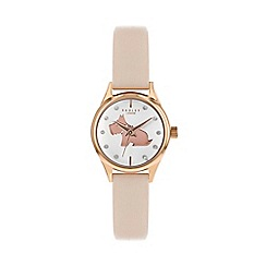 Radley - Ladies Pink Analogue Leather Strap Watch RY2756S