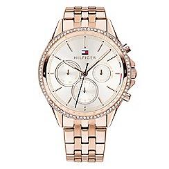 Tommy Hilfiger - Ladies rose gold multifunction bracelet watch 1781978