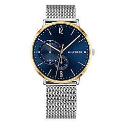 Tommy Hilfiger - Men's silver analogue bracelet watch 1791505