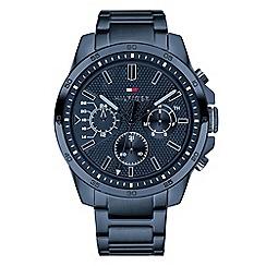 Tommy Hilfiger - Men's blue multifunction bracelet watch 1791560