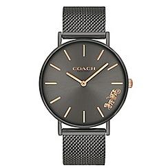 Coach - Ladies grey 'New York' analogue bracelet watch