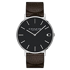 Coach - Men's multi-coloured 'Charles' analogue strap watch