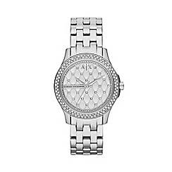 Armani Exchange - Ladies Silver Analogue Bracelet Watch AX5215