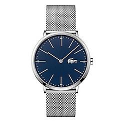 Lacoste - Men's silver analogue bracelet watch